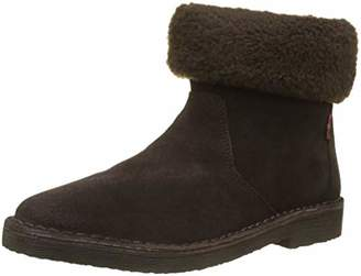 Levi's Women's Honey Slouch Boots, (Dark Brown 29)