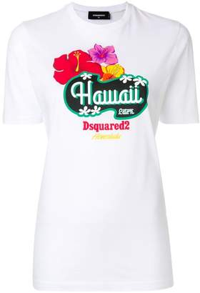 DSQUARED2 Hawaii print T-shirt