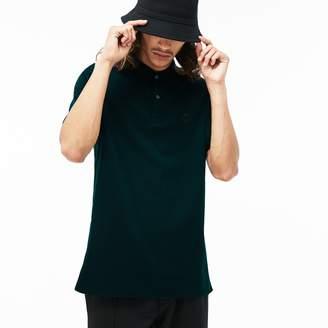 Lacoste Men's LIVE Slim Fit Bands And Badge Cotton Petit Pique Polo