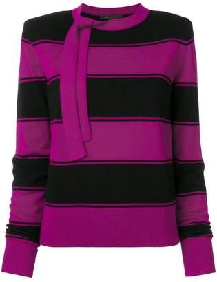 Marc Jacobs striped knit jumper