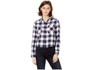 U.S. Polo Assn. Flannel Shirt Women's Clothing