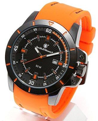 Smith & Wesson スミス&ウェッソン ミリタリー腕時計 TROOPER WATCH ORANGE/BLACK SWW-397-OR [正規品]