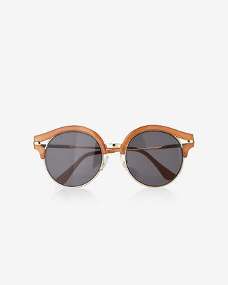 Express Round Lens Wink Sunglasses