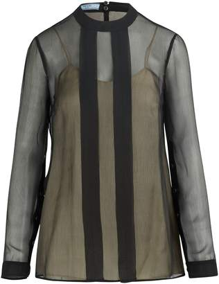 Prada Sheer blouse