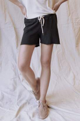 The Great Sweat Short In Washed Black