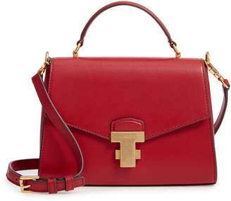 Tory Burch Small Juliette Leather Satchel