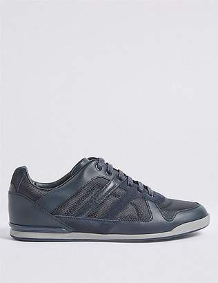 Marks and Spencer Leather Lace-up Fashion Trainers