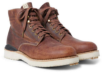 Visvim Virgil Distressed Leather Boots