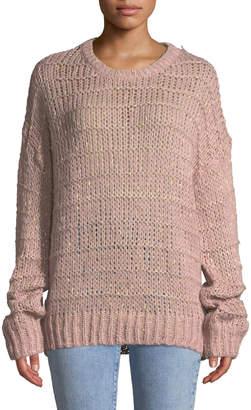 Raga Kaylie Metallic Knit Oversized Sweater