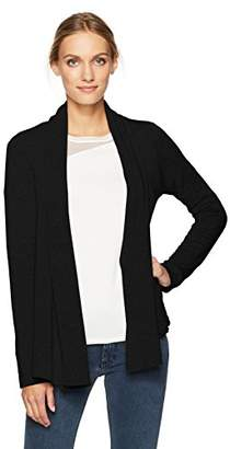Velvet by Graham & Spencer Women's Fleece No Closure Cardigan