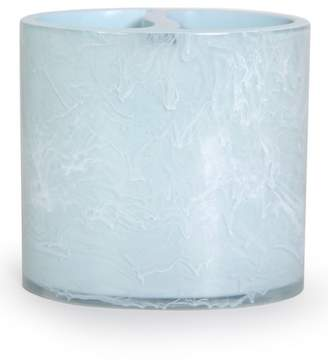 Moda At Home Pearl Blue\u002FWhite Breeze Toothbrush Holder