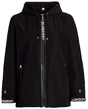 Burberry Women's Everton Logo Rain Jacket