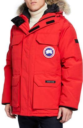 Canada Goose Men's Expedition Fusion Fit Hooded Parka Coat
