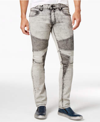 INC International Concepts I.N.C. Men's Moto Stretch Skinny Jeans, Created for Macy's