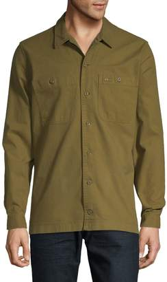 Lacoste Button-Down Long Sleeve Shirt