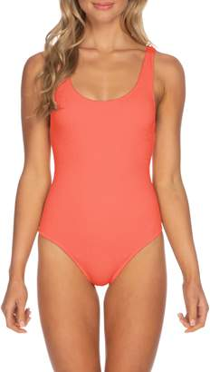 Isabella Collection ROSE Pucker Up Seersucker One-Piece Swim Suit