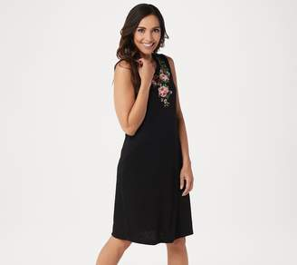 Belle By Kim Gravel Belle by Kim Gravel Embroidered Floral Tank Dress
