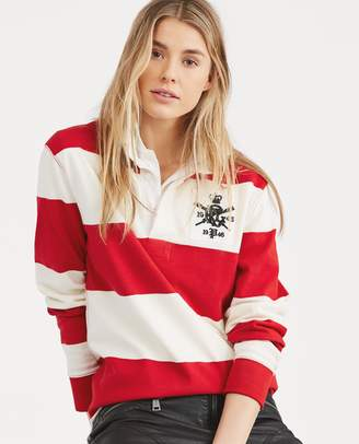 ... Ralph Lauren Monogram Cotton Rugby Shirt