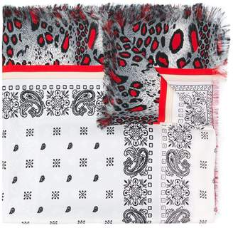 Pierre Louis Mascia Pierre-Louis Mascia multi-patterned scarf