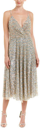Valentino Silk-Blend A-Line Dress