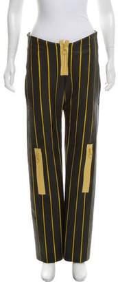 Martina Spetlova Mid-Rise Leather Pants w/ Tags