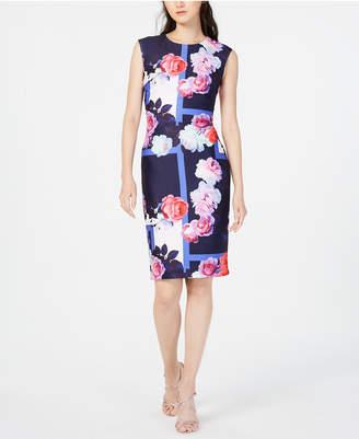 19b8d9965d691f Vince Camuto Blue Sheath Dresses - ShopStyle Canada