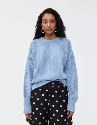 Stine Goya Jack Fluffy Knit Sweater