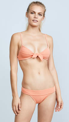 Vix Paula Hermanny Boucle Knot Bikini Top