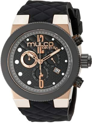 Mulco Men's MW5-2552-023 Couture Analog Display Swiss Quartz Watch