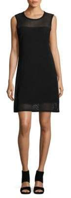 Joan Vass Mesh Shift Dress