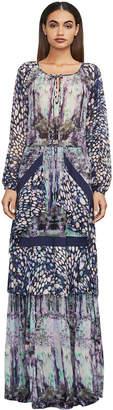 BCBGMAXAZRIA Elisa Floral-Print Maxi Dress