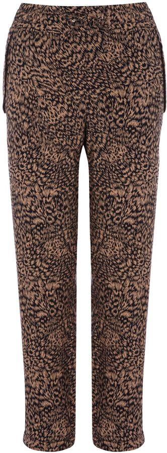 Women's Oasis Leopard print trouser