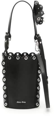 Miu Miu Soft Calf Bucket Bag