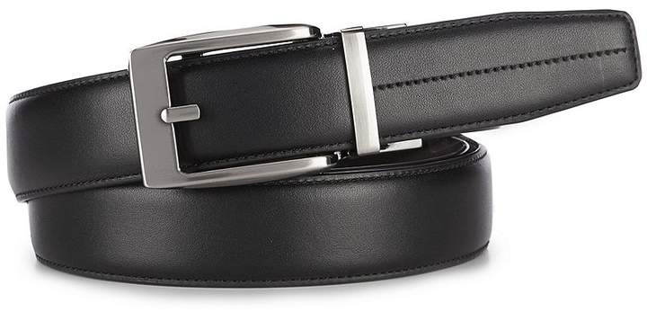 Roundtree & Yorke Big & Tall Paulie Ratchet Leather Belt