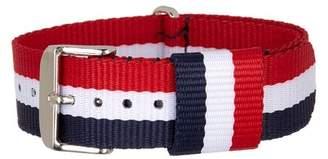 Public Opinion Grosgrain Buckle Bracelet