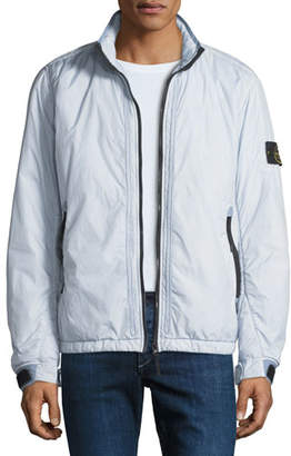 Stone Island Men's Lightweight Ripstop Zip-Front Jacket