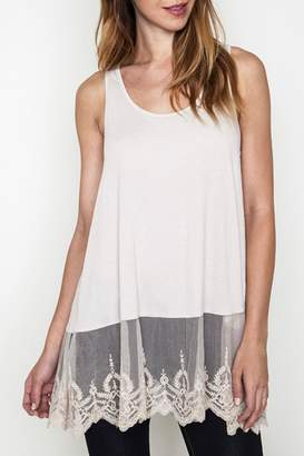 Umgee USA Lace Extender Tank