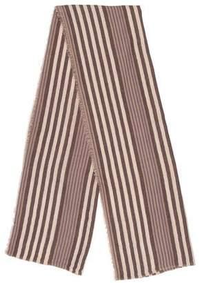 Epice Striped Wool Scarf