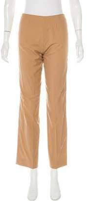 Loro Piana Virgin Wool Straight-Leg Pants