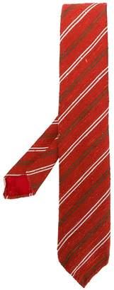 Lardini striped textured tie