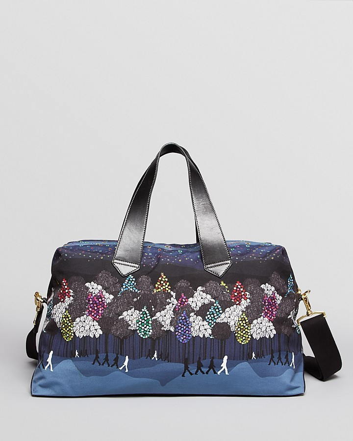 Paul Smith Diamond Forest Weekender Bag