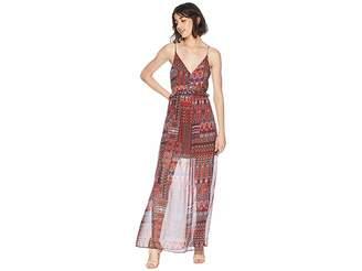 BCBGeneration Ruffle Maxi Dress Women's Dress
