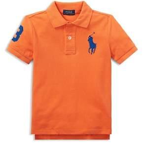 Ralph Lauren Boys' Big Pony Polo - Little Kid