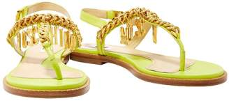 Moschino Toe strap sandals