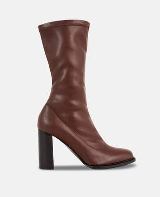 Stella McCartney brown ankle boots