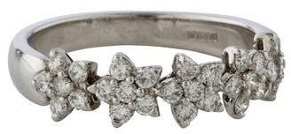 Damiani Diamond Flower Band