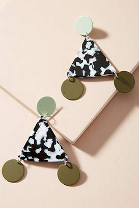 Bianca Mavrick Terzetto Triangle Drop Earrings