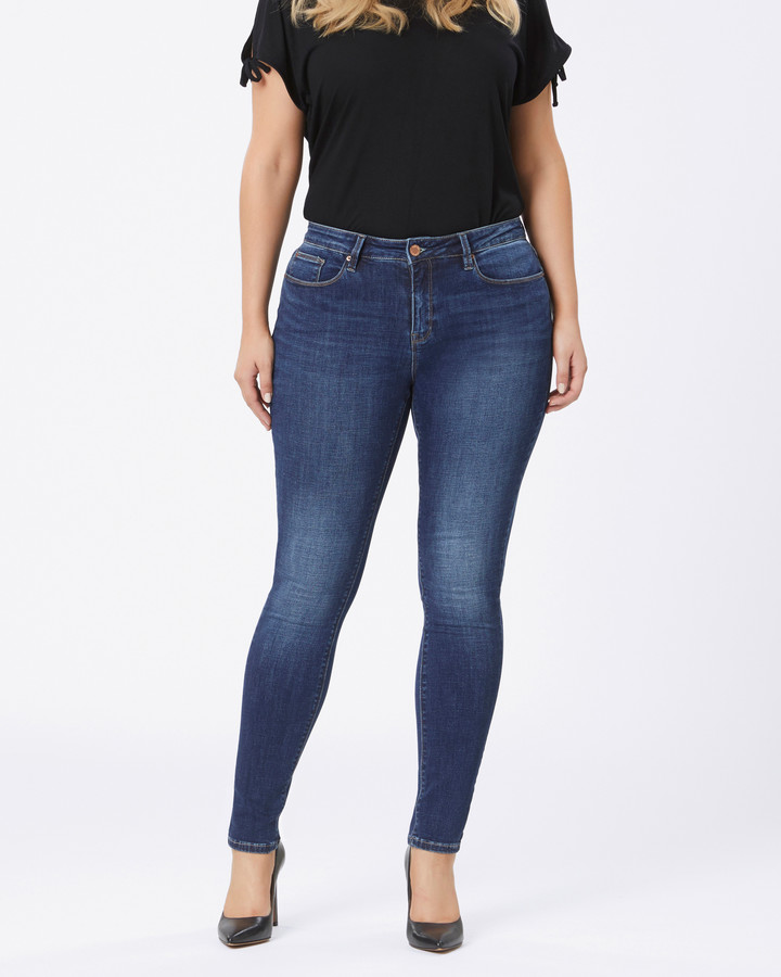 Jeanswest Curve Embracer Skinny jeans Mid Vintage