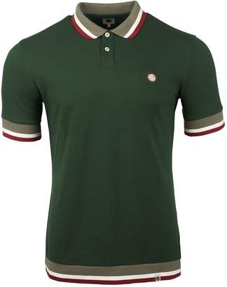 Pretty Green Men's Tipped Pique Polo Shirt