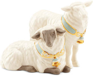 Lenox First Blessings Nativity Pair of Sheep Figurine
